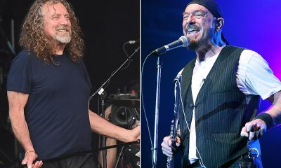 Robert Plant and Ian Anderson