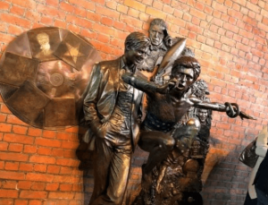 Statue Of David Bowie