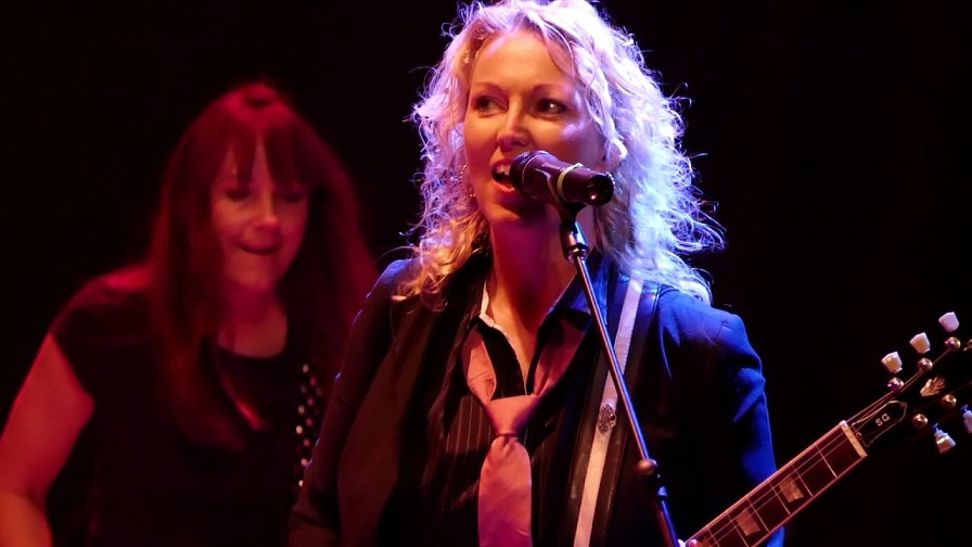 Watch amazing ACDC female tribute performing Dirty Deeds Done Dirt Cheap