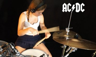 Watch talented girl performing ACDC's Whole Lotta Rosie