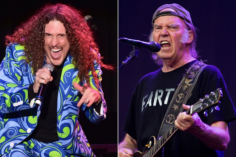 Weird Al Yankovic and Neil Young