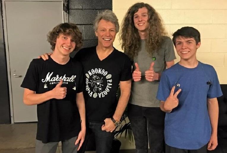 Bon Jovi and kids opening band