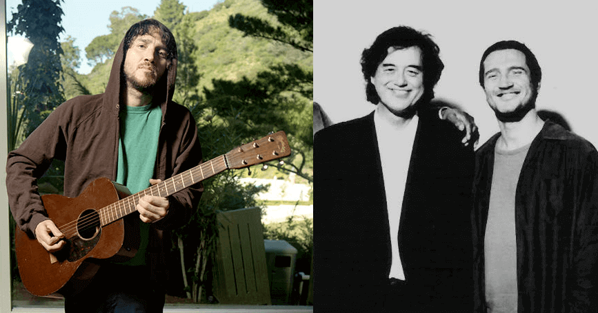 In letter John Frusciante asked Jimmy Page to play with ...