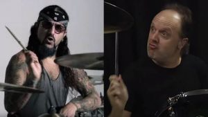 Mike Portnoy and Lars Ulrich