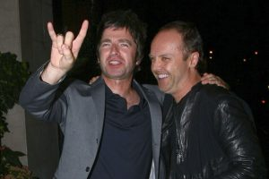 Noel Gallagher and Lars Ulrich