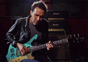 Paul Gilbert playing guitar