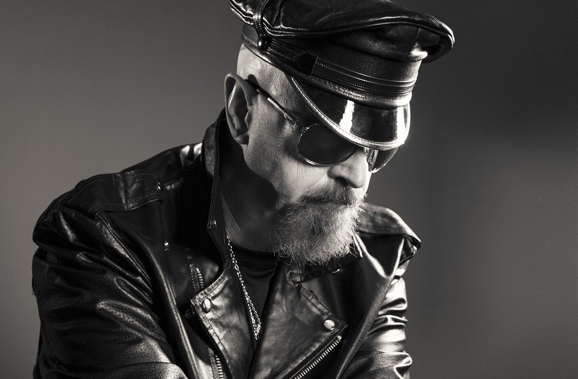 Rob Halford leather
