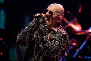 Rob Halford singing