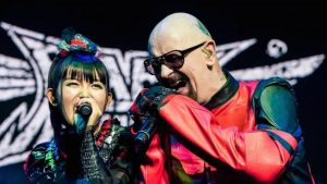 Rob Halford with BabyMetal