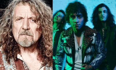 Robert Plant and Greta Van Fleet