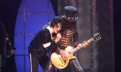 Slash and Michael Jackson
