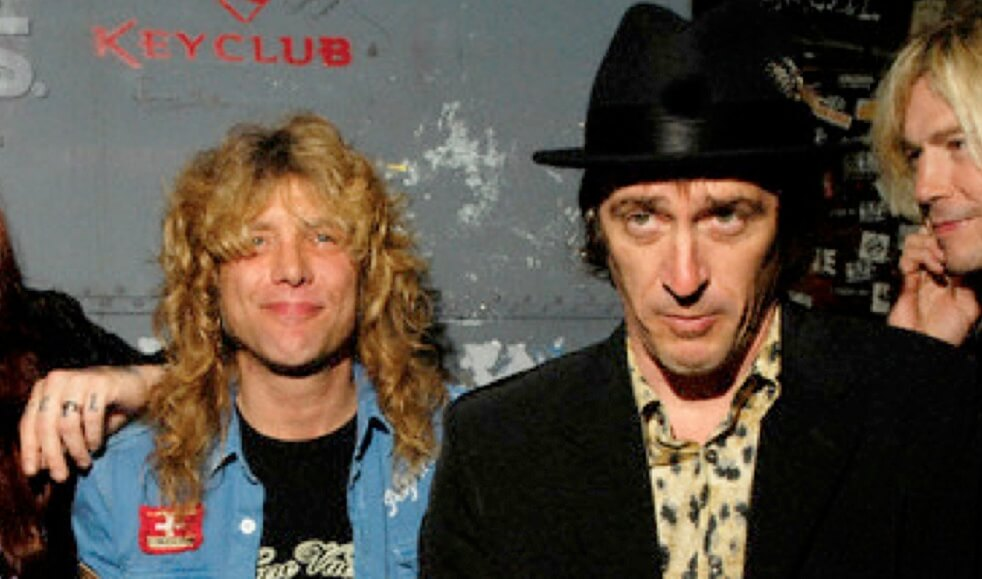 Steven Adler and Izzy Stradlin