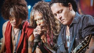Aerosmith and Johnny Depp
