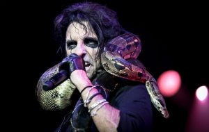 Alice Cooper snake
