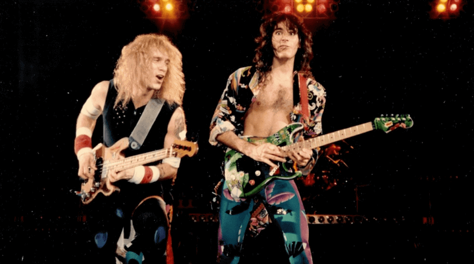 Billy Sheehan And Steve Vai On David Lee Roth Band Rock And Roll Garage