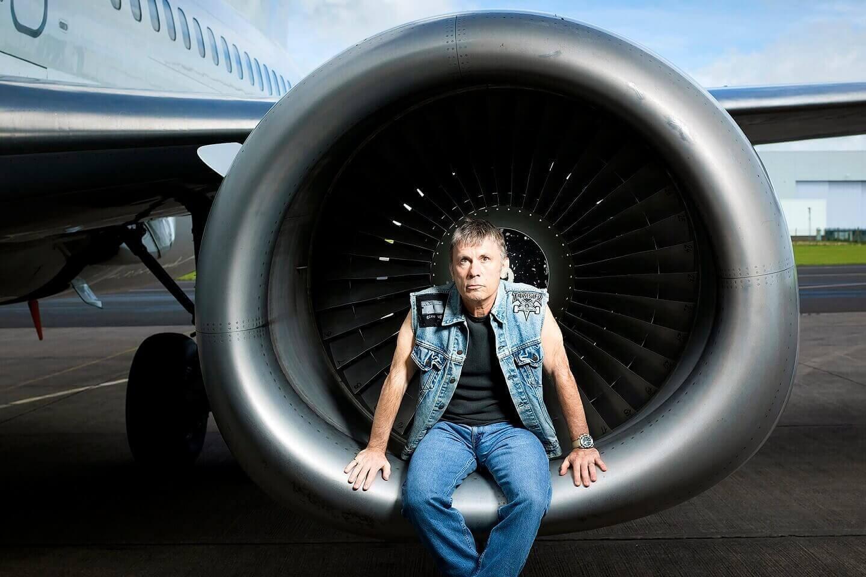Bruce Dickinson turbine