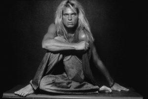David Lee Roth black and white