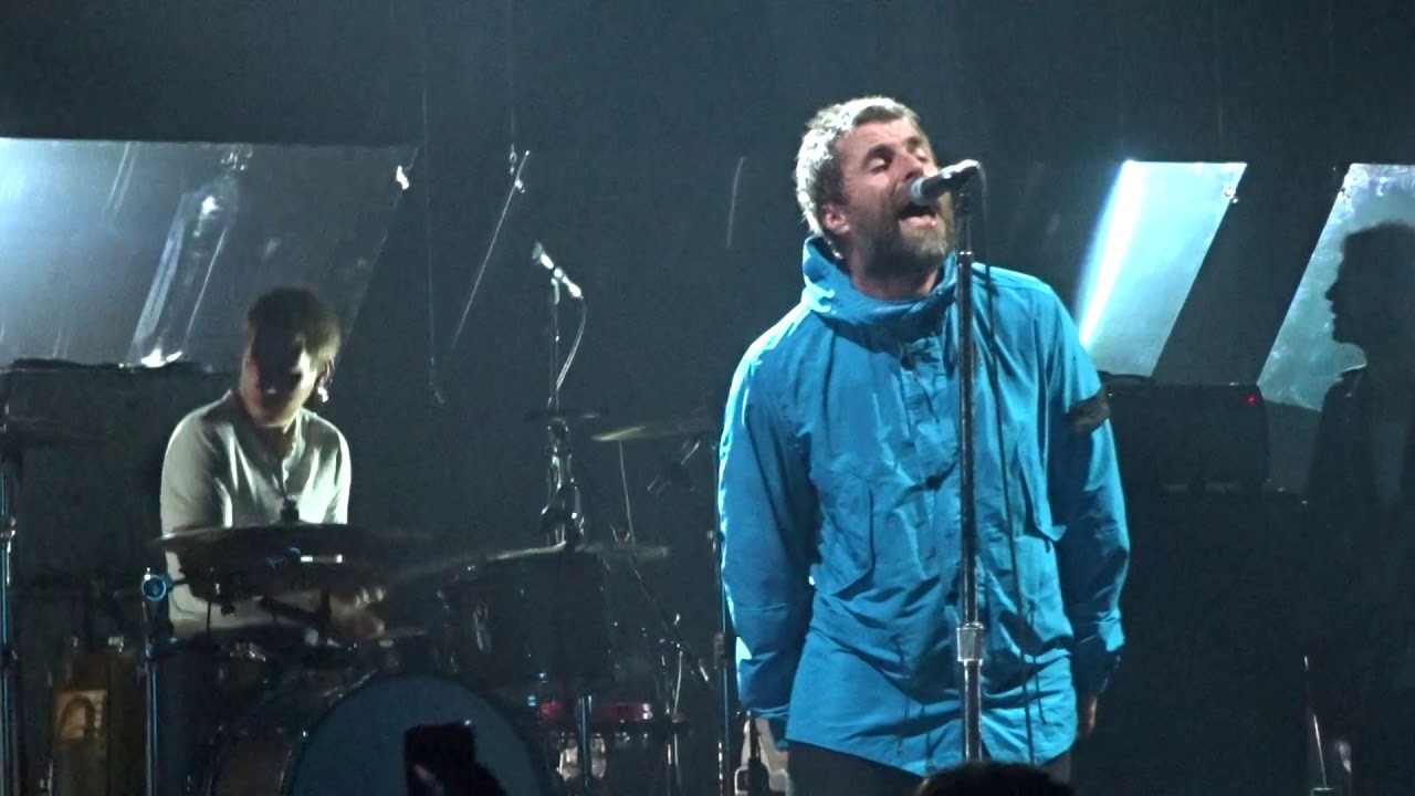 Liam Gallagher with Bonehead 2018