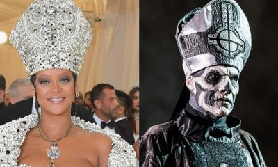 Rihanna and Papa Emeritus