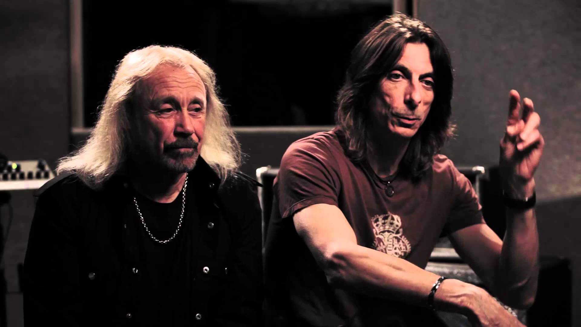 Ian Hill and Scott Travis