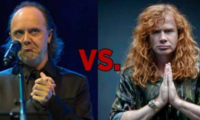Lars Ulrich and Dave Mustaine