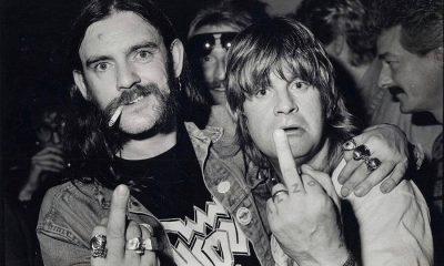 Lemmy and Ozzy Osbourne