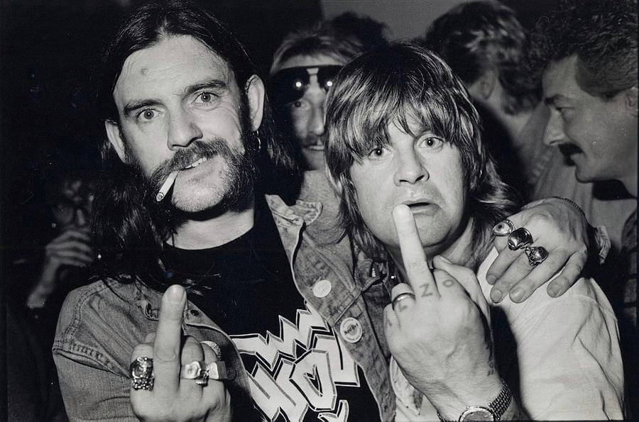 Lemmy and Ozzy Osbourne
