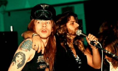Axl Rose and West Arkeen