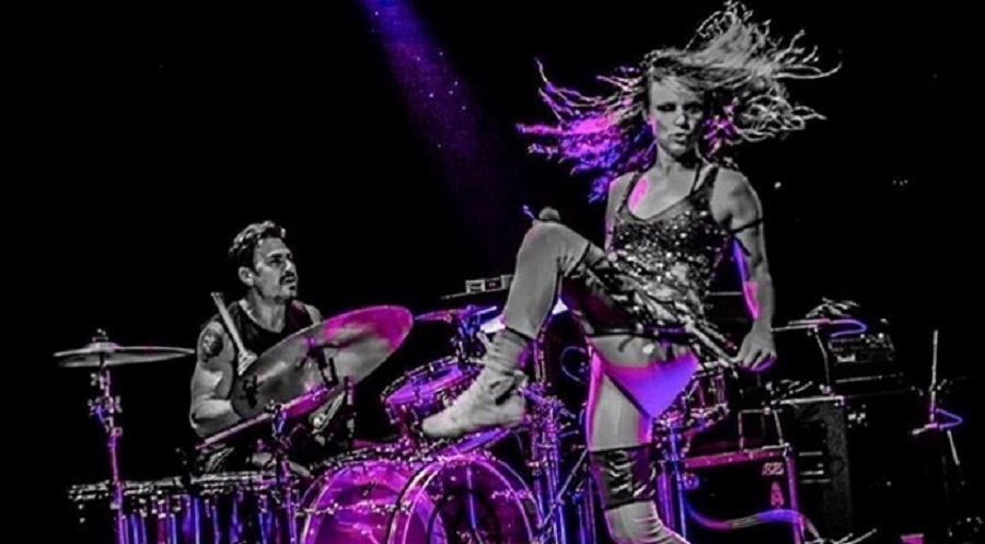 Brad Wilk and Juliette Lewis