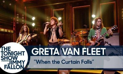 Greta Van Fleet at Jimmy Fallon