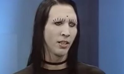 Marilyn Manson discussing moshpit in 1995