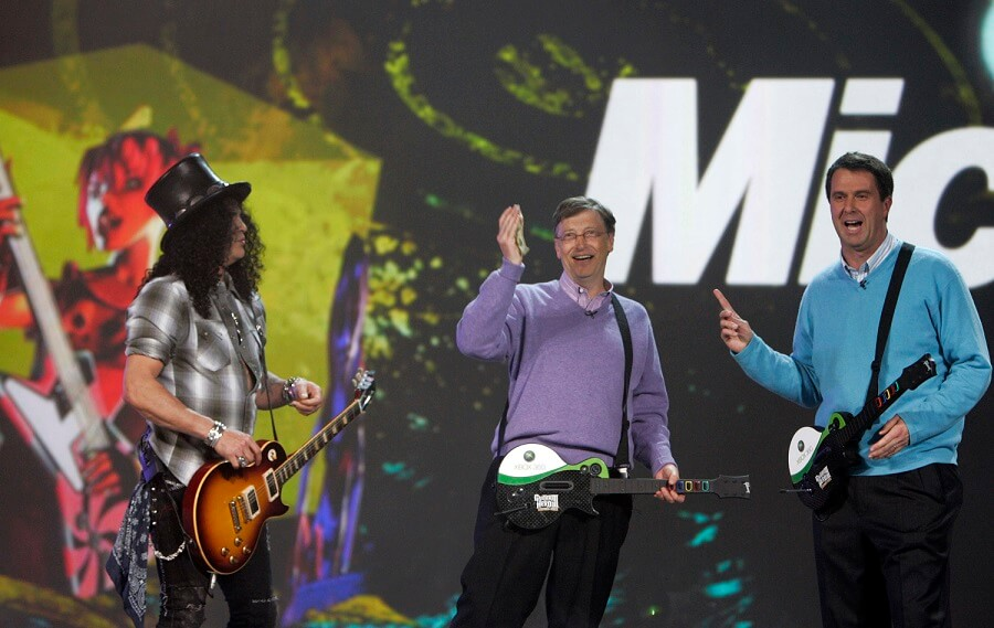 Slash and Bill Gates