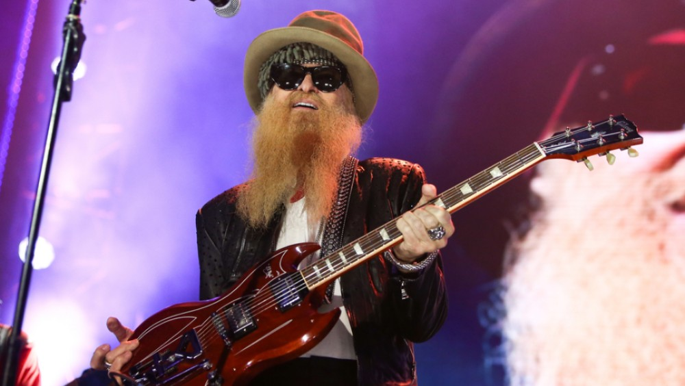 Billy Gibbons with SG guitar