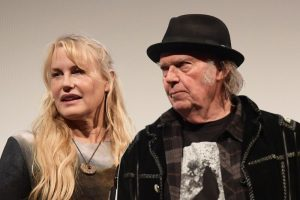 Daryl Hannah and Neil Young 2018
