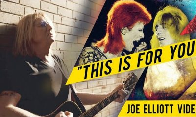 Joe Elliott Mick Ronson video