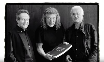 John Paul Jones, Robert Plant and Jimmy Page 2018