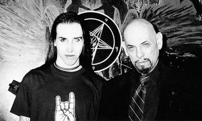 Marilyn Manson and Anton LaVey