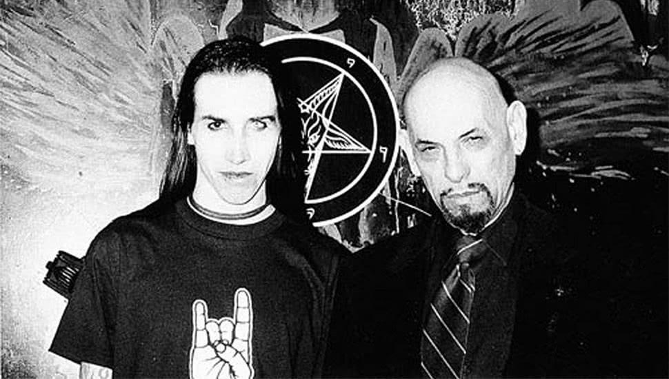Marilyn Manson and Anton LaVey