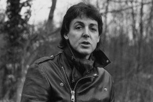 Paul McCartney Black and White