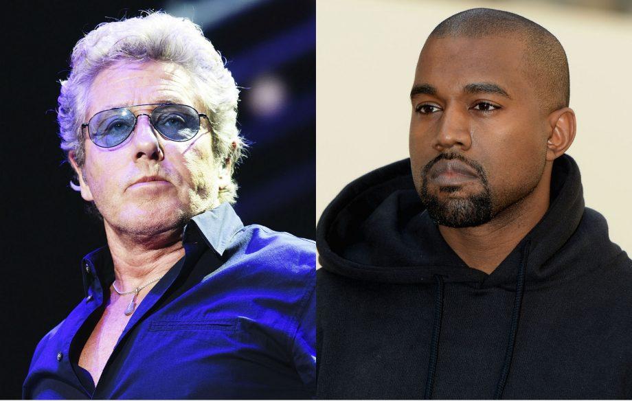 Roger Daltrey and Kanye West
