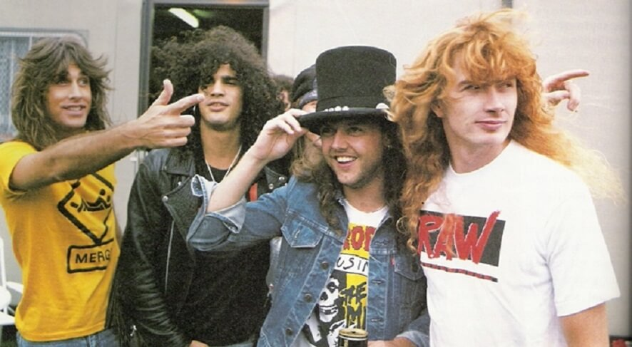 Slash and Dave Mustaine