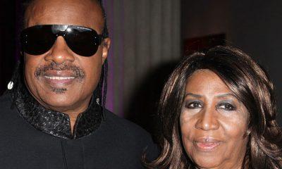 Stevie Wonder and Aretha Franklin
