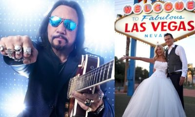 Ace Frehley Las Vegas wedding