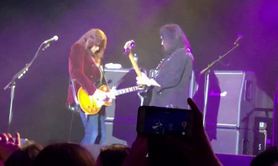 Ace Frehley and Gene Simmons playing together