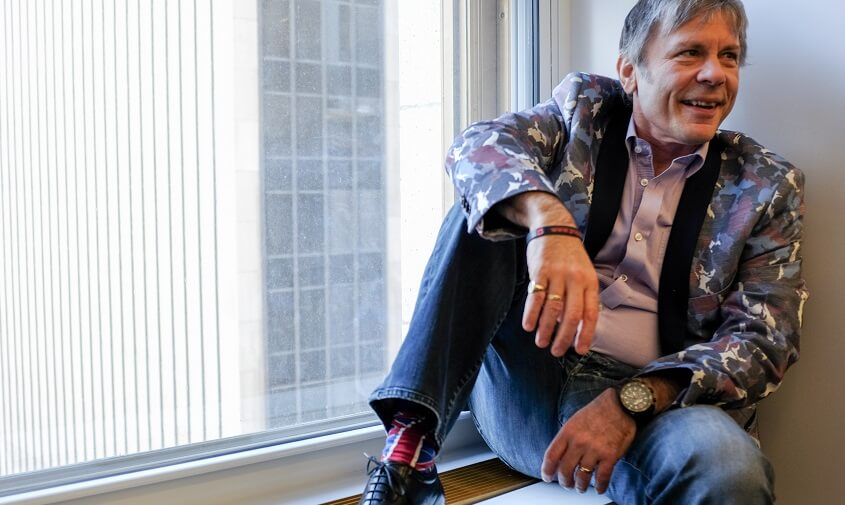 Bruce Dickinson interview