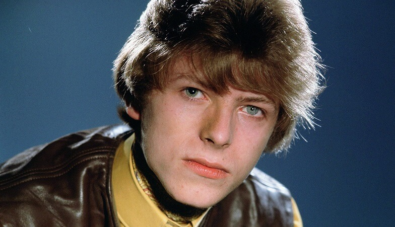 David Bowie very young