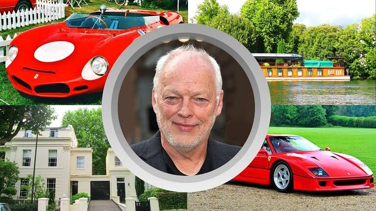 David Gilmour Networth