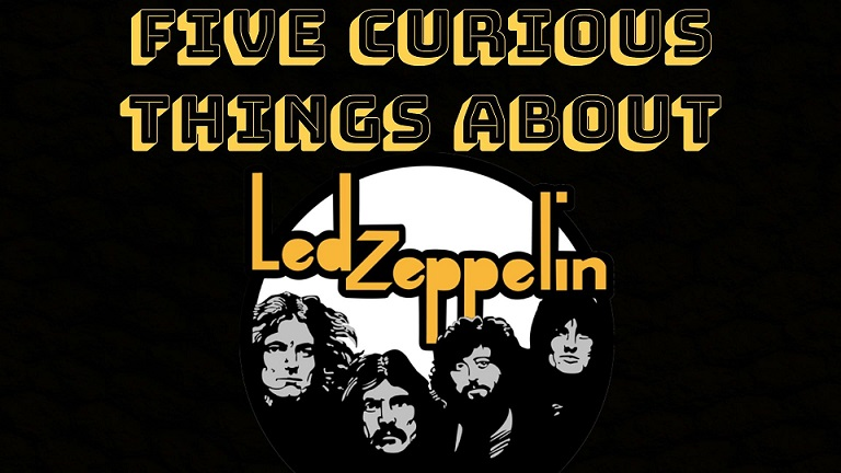Five curious things about Led Zeppelin