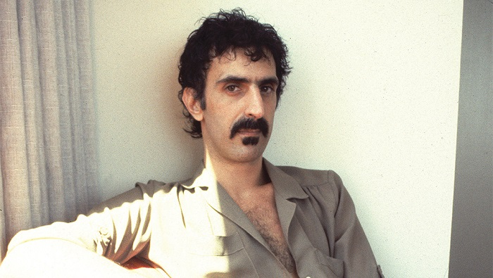 Frank Zappa short hair