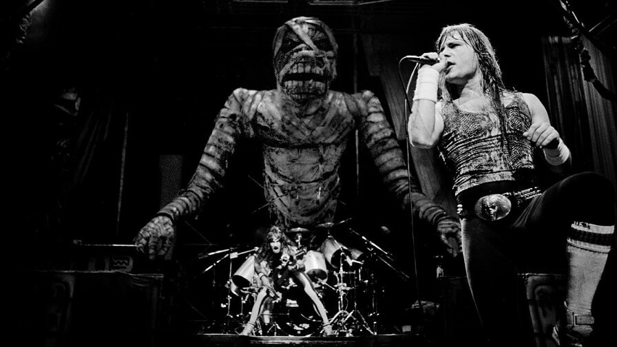 Iron Maiden in Rock In Rio 1985